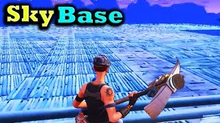 Fortnite Funny and WTF Moments (SKY BASE!) (Battle Royale)