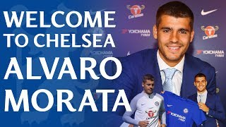 Alvaro Morata Is Officially A Chelsea Player | Exclusive Access To Our New Signing