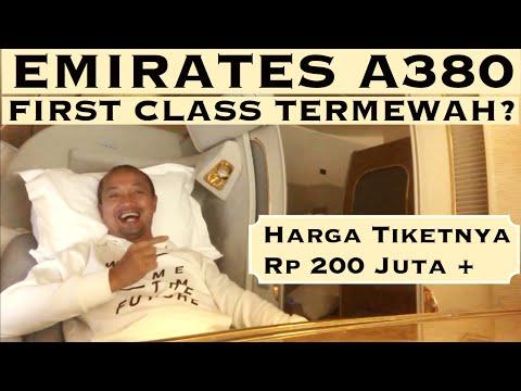 EMIRATES A380 FIRST CLASS ke Dubai, Dapat Tiket GRATIS! |VLOG #33 Mp3
