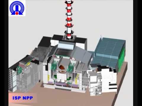 на Чернобыльской АЭС 3Д