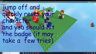 ROBLOX   Experience Gravity How to Get the Secret Badge   READ DESCRIPTION