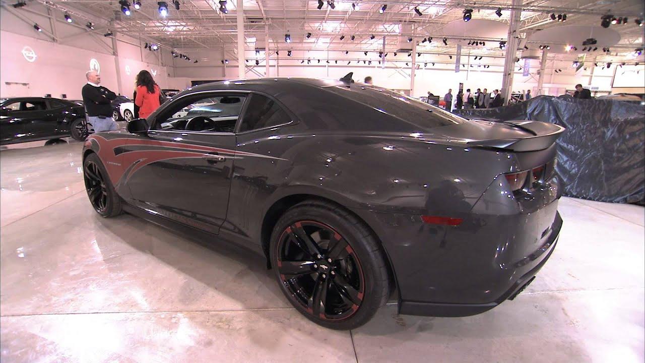 Chevrolet Camaro Zl1 Tony Stewart Show Car Concept Youtube