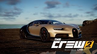 TheCrew2: Bugatti Chiron Tuning + Test Drive