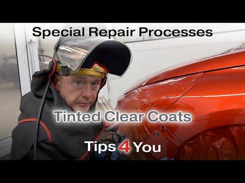 Special Repair Processes Tinted Clear Coats