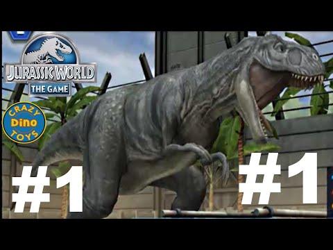 Jurassic World - The Game Dinosaurs Ludia Majungasaurus Episode 1 HD - WD Toys
