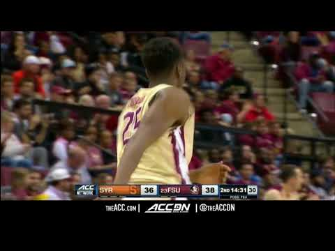 Syracuse vs Florida State College Basketball Condensed Game 2018