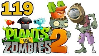 ч.119 Plants vs. Zombies 2 - Dark Ages - Day 6