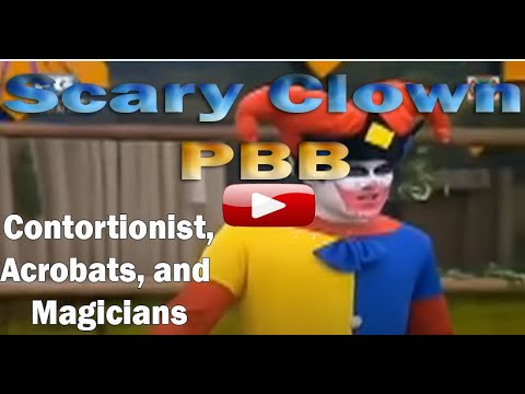 Mystic Mime Plays Scary Clown in Manila Philippines , Others Magician, Contortionist, Acrobat