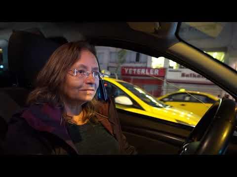 İstanbul'da Kadın Taksici