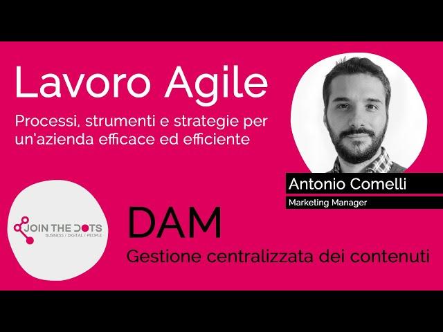 DAM, gestione centralizzata dei contenuti