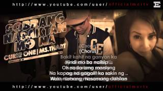 Repeat youtube video Sobrang Nasasaktan Mo Na - Ms.Thart & Curse One (Official Video Lyrics)