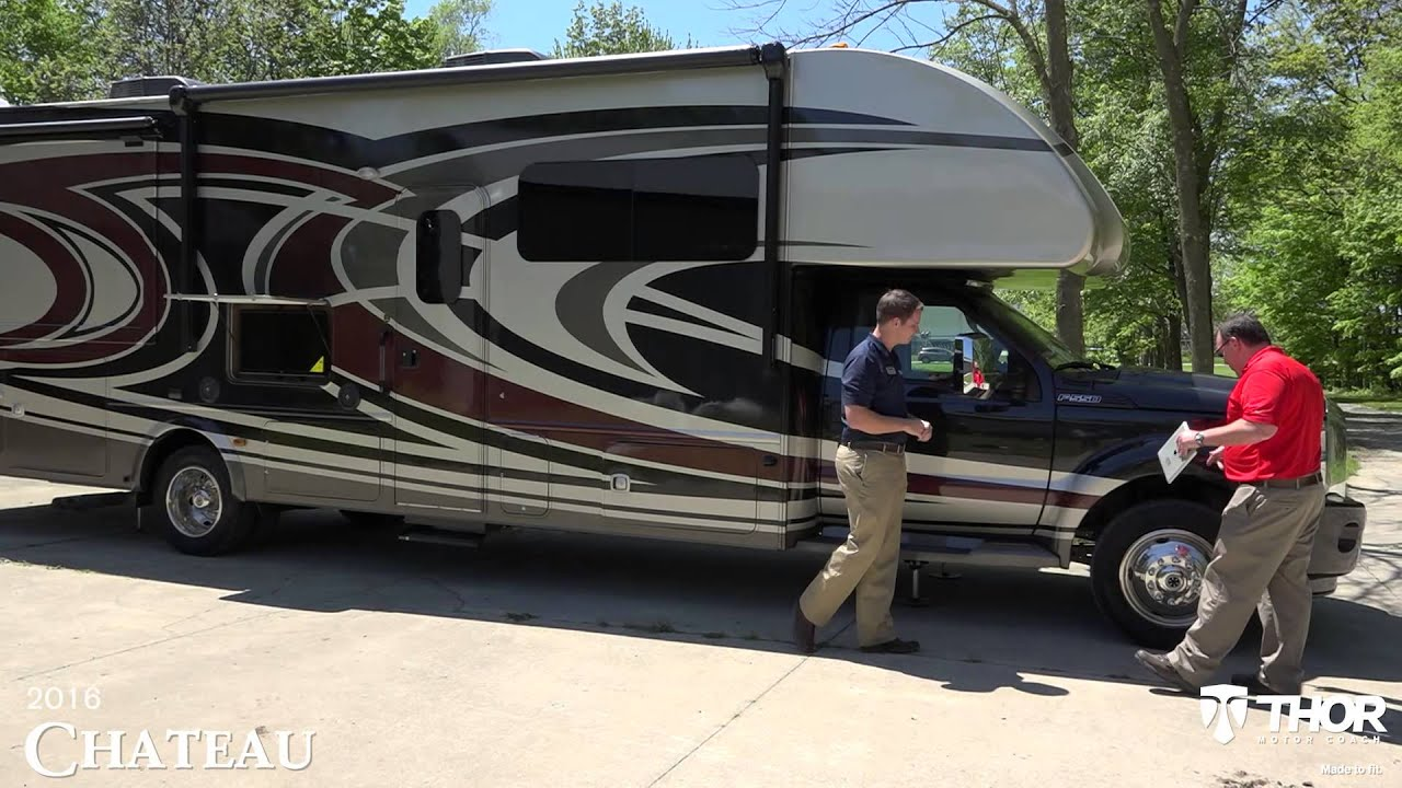 Thor Chateau Super C >> 2016 Chateau Super C Motorhomes from Thor Motor Coach ...