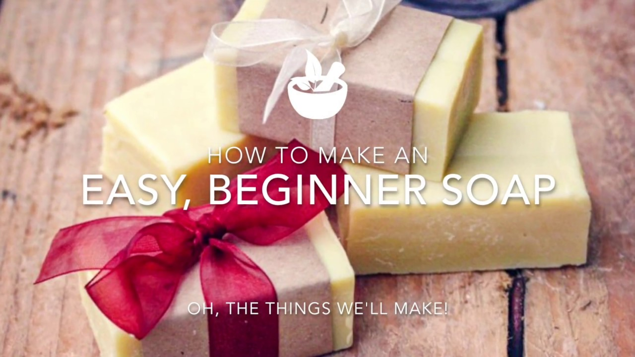Making an Easy, Basic Beginner Soap, and Then Making it Fun!! - Oh
