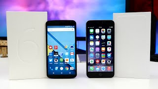 Google Nexus 6 vs Apple iPhone 6 Plus - Ultimate Comparison!