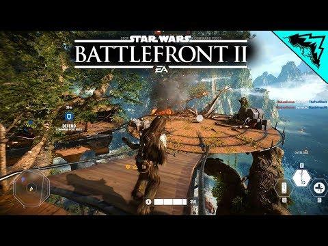 Battlefront 2: STRIKE MVP on Kashyyyk Day & Night (Star Wars Battlefront II Multiplayer Gameplay)