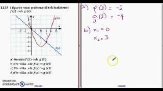 Matematik 5000 - Ma 2b - Kapitel 1 - Mer om funktioner - 1237