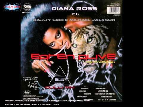 DIANA ROSS - EATEN ALIVE ALBUM LYRICS