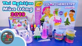 Cách tạo tuyết cầu vồng với bộ Crayola Color Chemistry Arctic Lab ToyStation 440