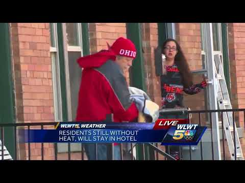 Norwood residents forced out by cold conditions
