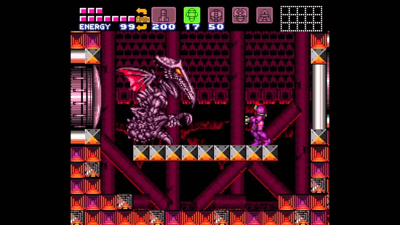 Super Metroid - Ridley roar sound effect