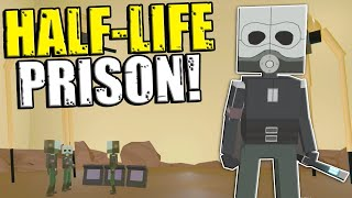 We Escaped a Half-Life Combine Prison! - Paint The Town Red Multiplayer