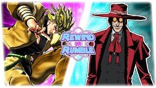 DIO BRANDO vs ALUCARD! (Jojo's Bizarre Adventure vs Hellsing) | REWIND RUMBLE!
