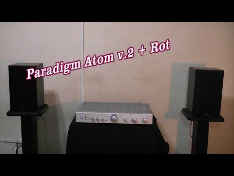 Paradigm Atom v 2 + Rotel ra 05