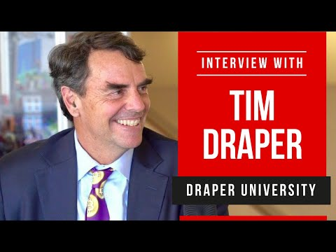 Tim Draper - Bitcoin, Blockchain, Tesla, Elon Musk and many more topics