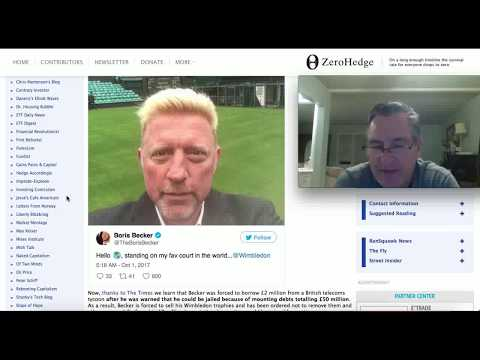 A Bankrupt Boris Becker Is Liquidating His Assets