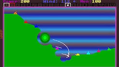 Tank Wars Longplay (DOS)