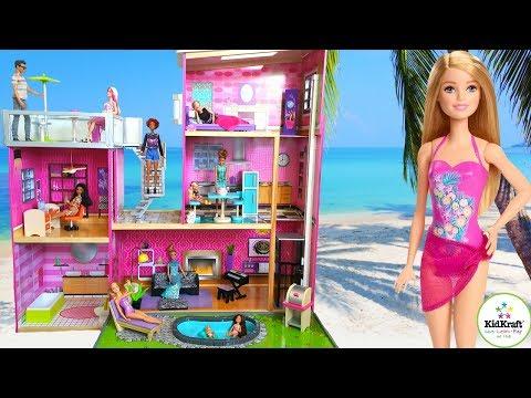 Tour de Mi Casa de Muñecas Barbie KidKraft Uptown Dollhouse|Mi Casita Jugetes y Sorpresas