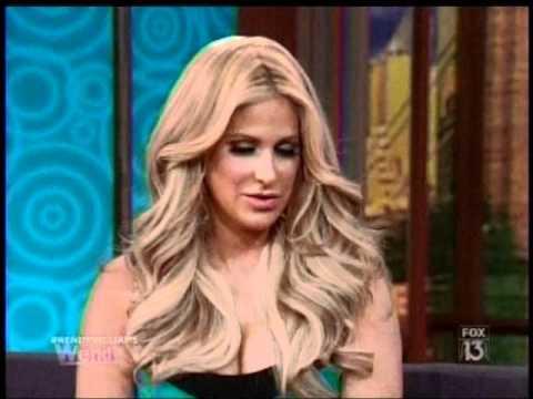Kim Zolciak on The Wendy Williams Show
