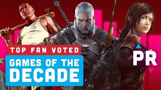 Revealed: Your Favorite Games Of The Decade - Power Ranking