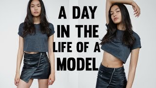 day in the life of a model   sian lilly