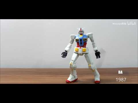 Stunning Stop Motion Animation Of Gundam Michael Jackson Dance Moves
