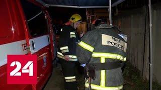 Пожар на складе нефтепродуктов под Нижним Новгородом. Хроника событий - Россия 24