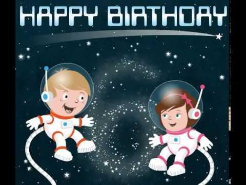 Happy 6th Birthday Astronauts Ecard - YouTube