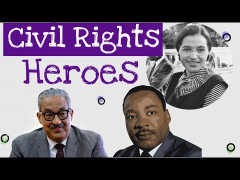 Civil Rights Heroes For Kids