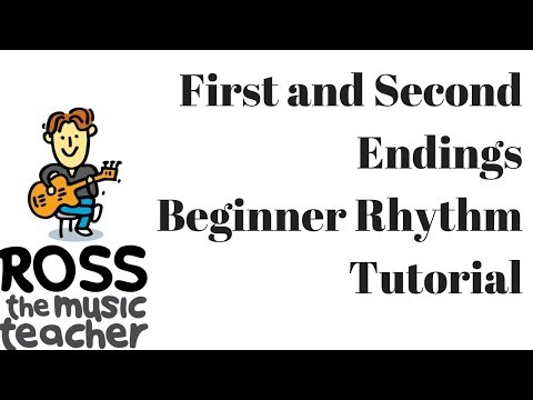First and Second Endings in Music - Animated Rhythm Lesson