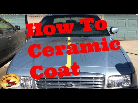 How to Ceramic Coat a Car or Truck Paint....PROTECT YOUR SWEET RIDE