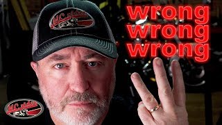 3 common motorcycle beliefs that are WRONG!
