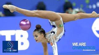 2017 Rhythmic Worlds, Pesaro (ITA) - All-around Final (Top 12), Highlights - We Are Gymnastics !