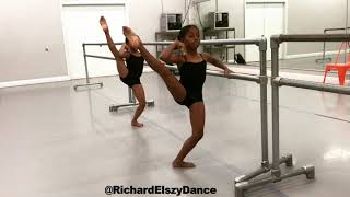 Petite Dance Heel Stretch Exercise-Richard Elszy Building Blocks Of Dance