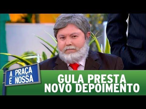 Gula presta novo depoimento   A Praça é Nossa (19/10/17)