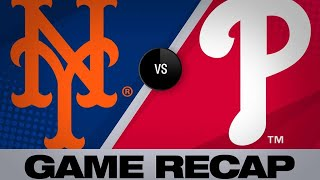 4/15/19: Mets win wild 11-inning game in Philly