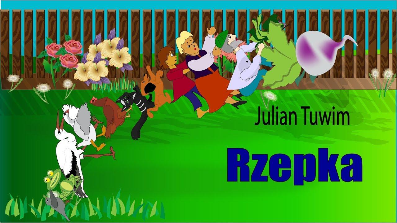 Rzepka I Inne Animowane Wierszyki Dla Dzieci Julian Tuwim
