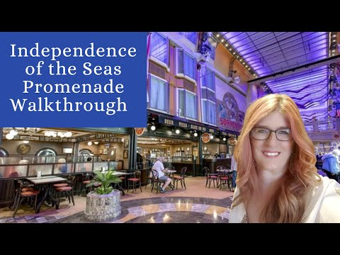 Royal Promenade-Independence of the seas Brought to you by Plenty of Sunshine Travel