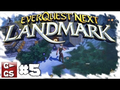 Landmark #5 Basis Design ist schwerer als gedacht Voxel MMO Lets Play HD deutsch german