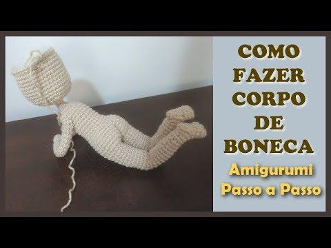Amigurumi Boneca Articulada Com 2 Trocas De Roupas - Oferta - R ... | 360x480