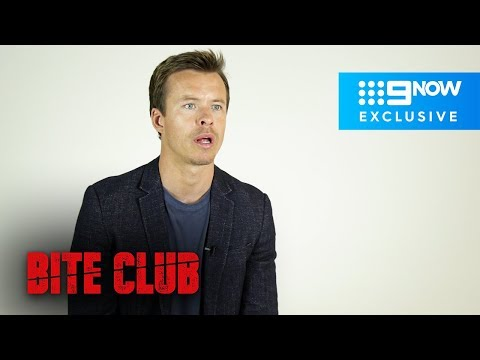 Todd Lasance spills on how they recreated the brutal shark attack that opens 'Bite Club'  Bite Club